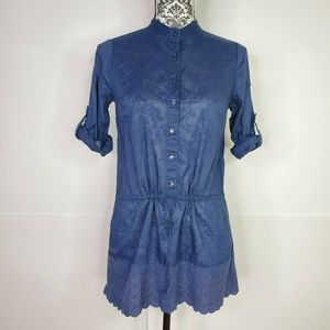 Calypso St. Barth for Target Tunic Blouse Blue S